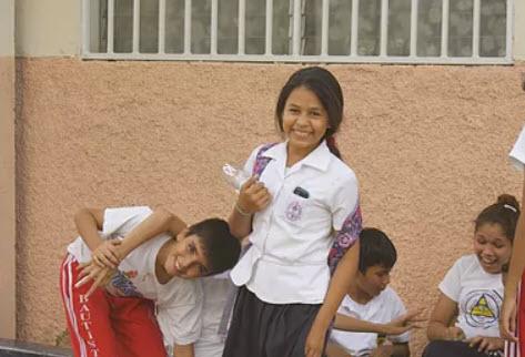 School children in Nicaragua